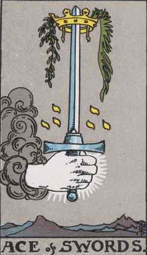 Ace of Swords Tarot Card
